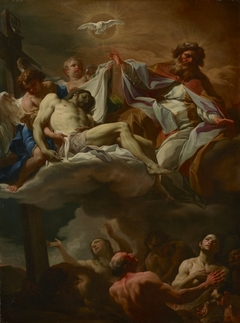 The Trinity with Souls in Purgatory