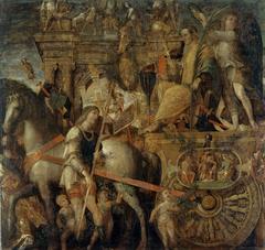 The Triumphs of Caesar: 9. Caesar on his Chariot