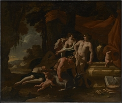 The Union of Venus and Bacchus