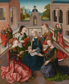 The Virgin and Child with Four Holy Virgins