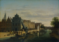 The Waag (weigh-house) and Crane on the Spaarne, Haarlem