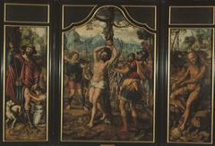 Triptych of the Martyrdom of St Sebastian