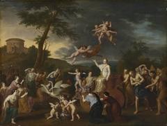 Triumphzug der Venus