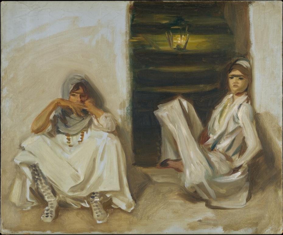 Two Arab Women
