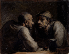 Two Drinkers (Les Deux buveurs)