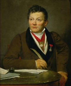 Portrait of French archaeologist Alexandre Lenoir