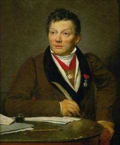 Portrait of French archaeologist Alexandre Lenoir