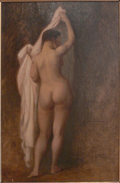 Nude from behind