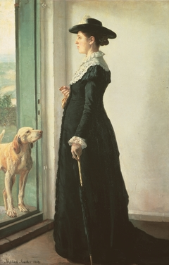 Portrait of My Wife (The Painter Anna Ancher)