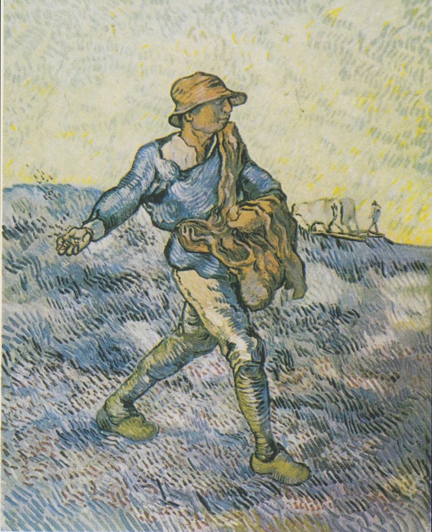The sower (after Millet)