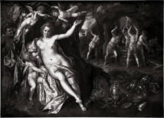 Venus in the smithy of the volcano