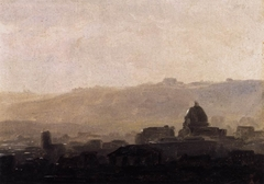 View of Rome in the Morning