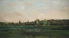 Village on the Seine near Vernon