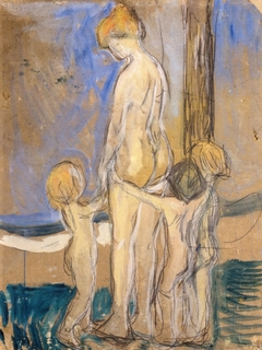 Woman with Children