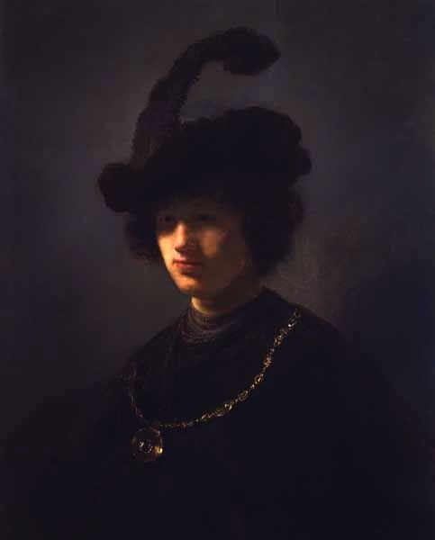 Young Man with a Plumed Hat