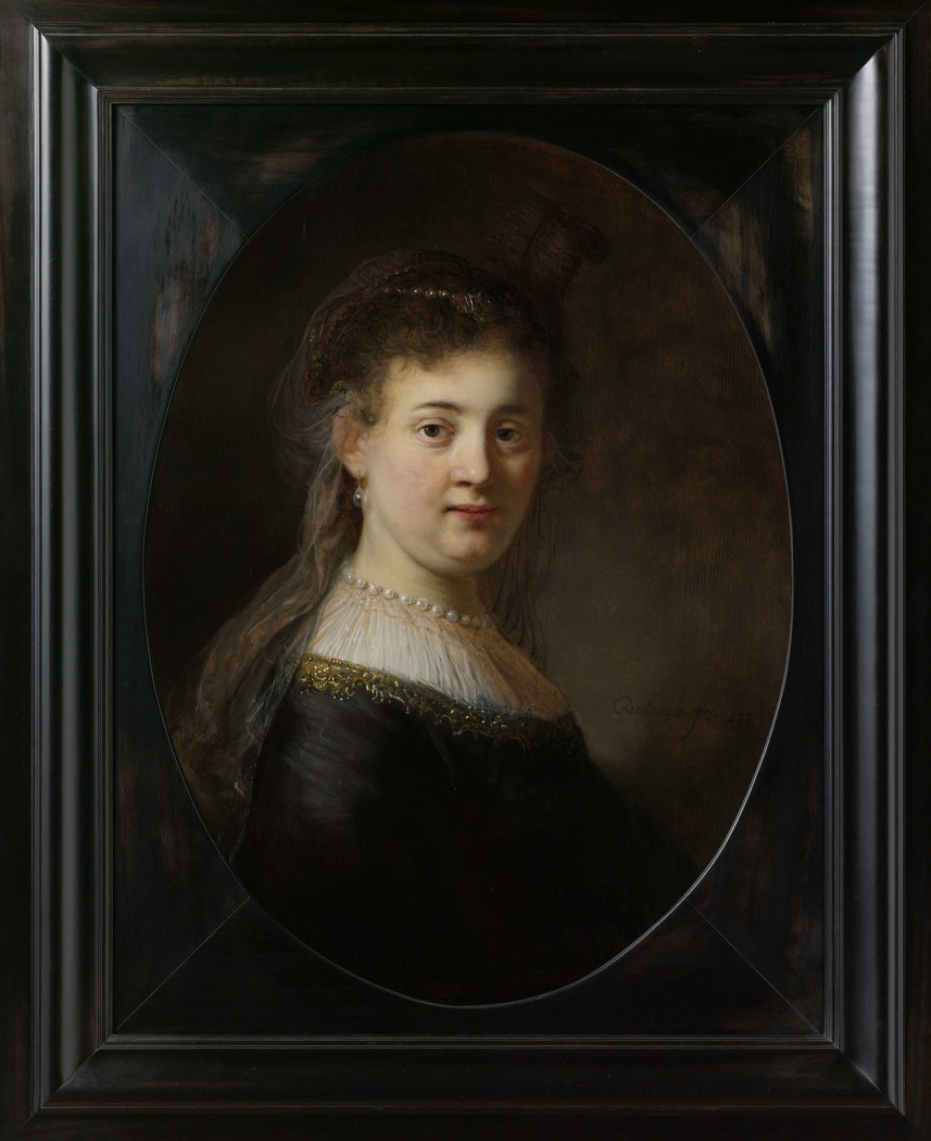 Young Woman In Fantasy Costume Rembrandt Artwork On Useum