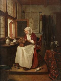 A Lace Maker