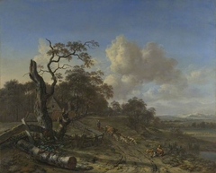 A Landscape with a Dead Tree