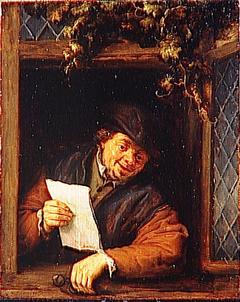 A Reader in a Window