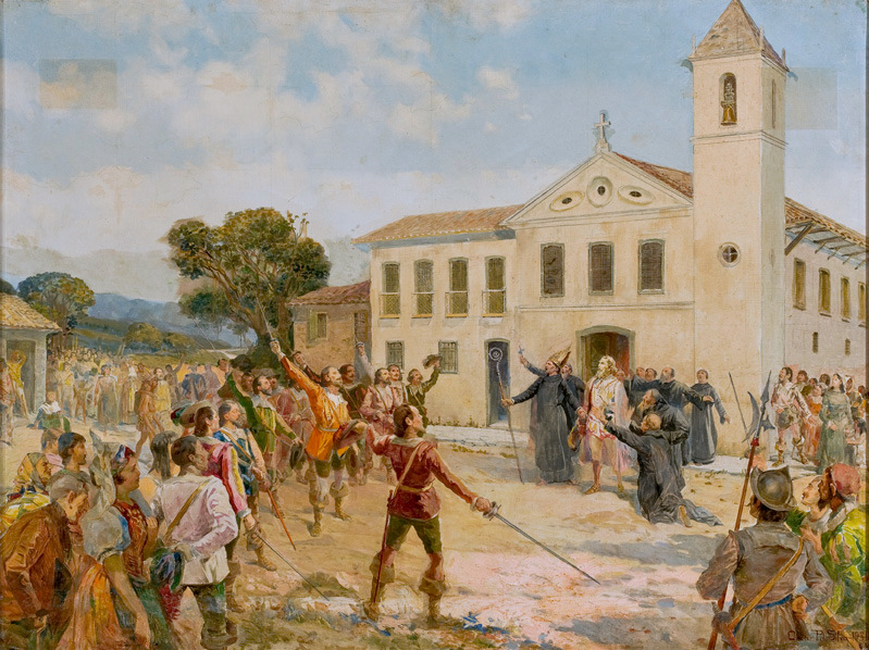 Abjuration of the King - The Acclamation of Amador Bueno