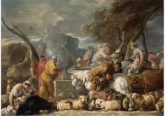 ?Abraham's Sacrifice near Bethel