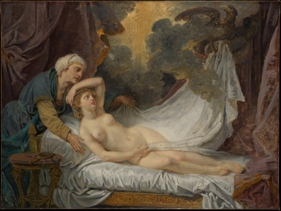 Aegina Visited by Jupiter