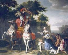 Allégorie du mariage de Louis XIV et de l'infante Marie-Thérèse d'Autriche