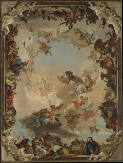 Allegory of the Planets and Continents