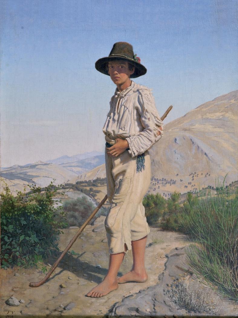 An Italian Shepherd Boy