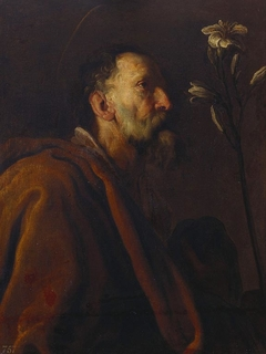 An Old Male Saint