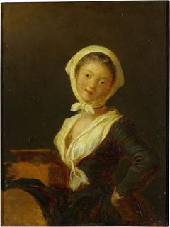 An organ grinder (a woman of savoy)