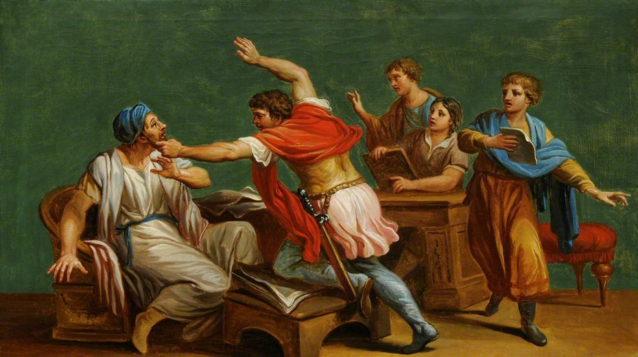 An Unknown Classical Subject: a Fight