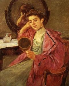 Antoinette at her dressing table