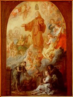Apothéose de saint François de Paule