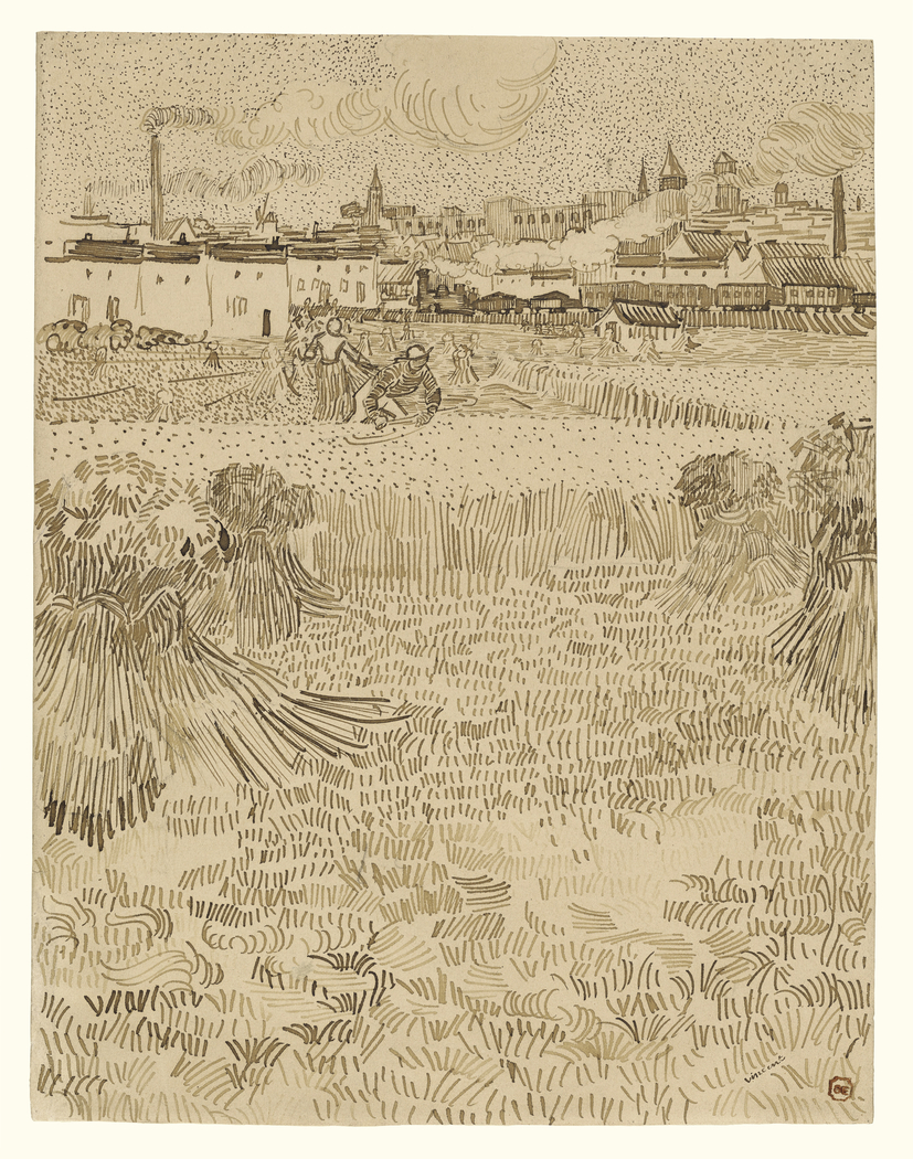 Arles: View from the Wheatfields