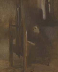Artist at His Easel (L'Artiste à son Chevalet)