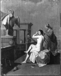 Bathseba und ihre Dienerin