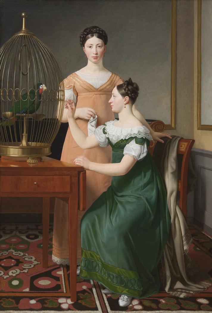 Mendel Levin Nathanson's Elder Daughters, Bella and Hanna