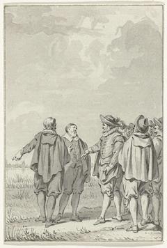 Beraadslaging van zes vooraanstaande Amsterdammers, juli 1566