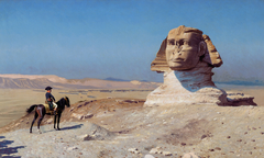 Bonaparte Before the Sphinx (Bonaparte devant le Sphinx)