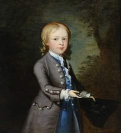 Boy with a Bird's Nest in a Tricorn Hat