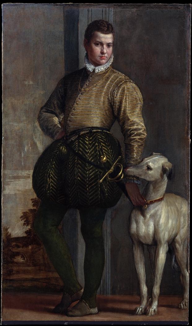 Boy with a Greyhound