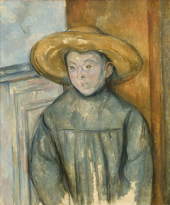 Boy With a Straw Hat