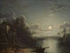 Called Walton Bridge by Moonlight (actually Chertsey Bridge)