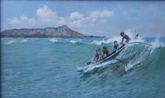 Canoe Surfing, Waikiki
