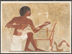 Carpenter Making a Chair, Tomb of Rekhmire