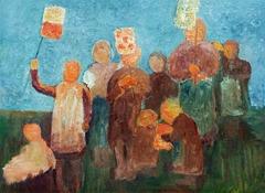 Children with Lanterns