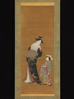 Courtesan and Her Attendant