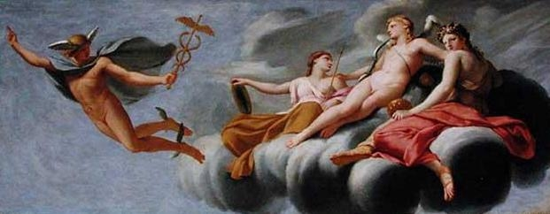 Cupid Ordering Mercury to Announce his Power to the Universe