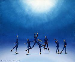 CYGNES DU LAC - Swan Lake - by Pascal